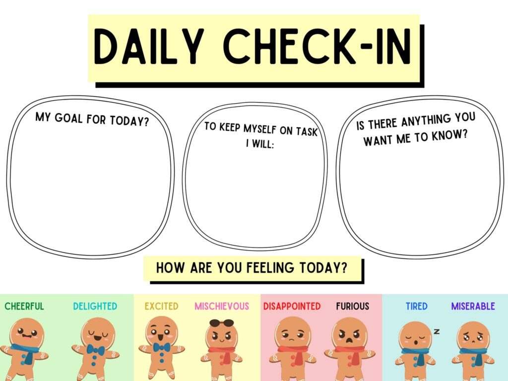 Daily Check In Activity